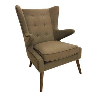 Mid-Century Modern Style Papa Bear Style Armchair For Sale