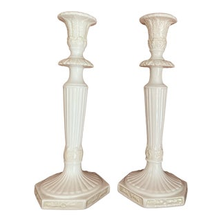 Lenox Butler's Pantry Collection Candle Sticks - a Pair For Sale