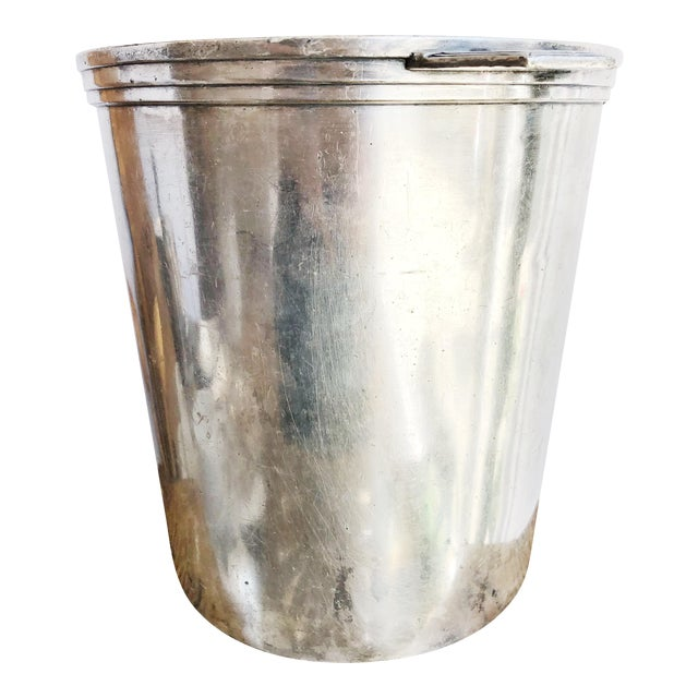 Vintage Christofle Silver Champagne Bucket From Le Colisee Hotel Paris For Sale