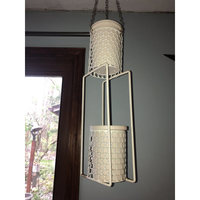 Mid 20th Century Hanging Plant Basket For Sale In Cleveland - Image 6 of 8