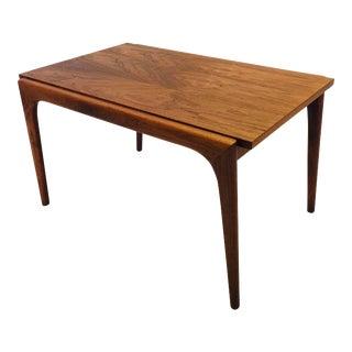 Vintage Mid Century Walnut Side Table or Small Coffee Table