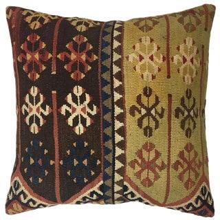 """Vintage Kilim Pillow   20"""" For Sale"""