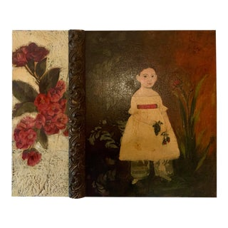 Rosemary Broton-Boyle B.1948 Gothic Oil Painting on Wood Panel, 2000 For Sale