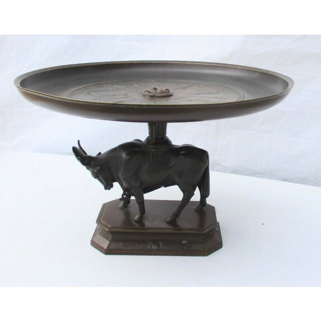 Egyptian Revival Bronze Tazza For Sale - Image 13 of 13
