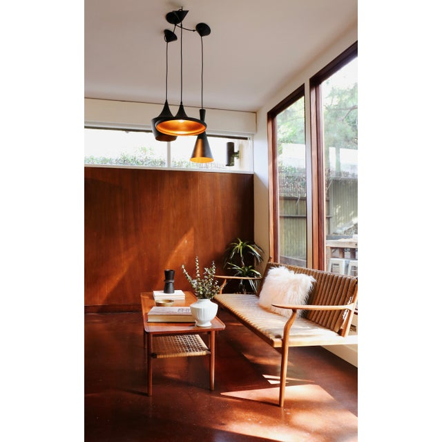 "Tom Dixon Copper Design Shade Pendant Lamp. ""Beat Wide"" H 7.49 in. X Dm 26.78 in. ""Beat Pendant"" H 13.78 in. X Dm 9.85 in...."
