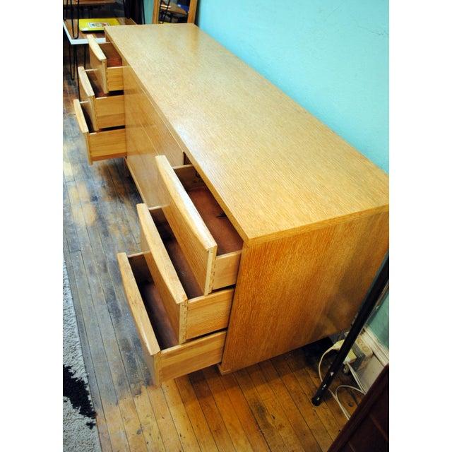 "Mid-Century Modern Mid-Century Kent Coffey ""Escort"" 9-Drawer Dresser For Sale - Image 3 of 9"