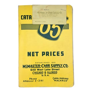 1965 McMaster-Carr Supply Co. Catalog