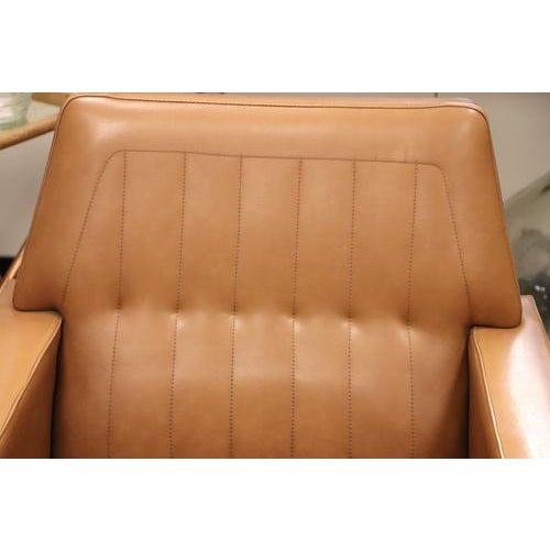 1970s Vintage Mid Century Armchair For Sale - Image 5 of 10