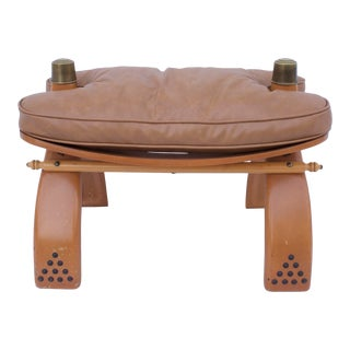 Egyptian Camel Saddle Stool For Sale