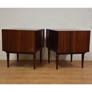 Rosewood Nightstands by Svante Skogh for Seffle - a Pair Preview