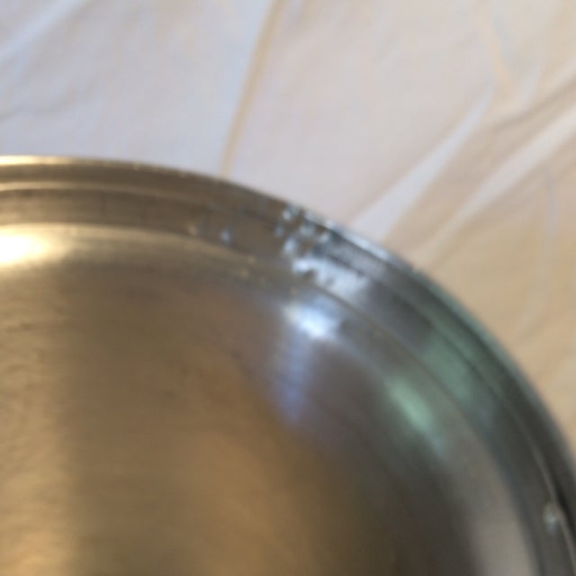 Vintage Italian Insulated Aluminum Ice Bucket by Nasco For Sale - Image 11 of 11