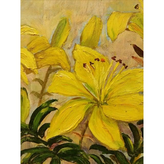 Mid-Century Oil Still Life Painting - Image 5 of 7