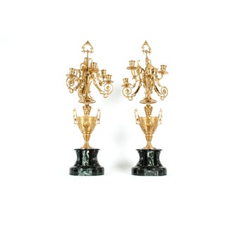 Mid-19th Century Gilt Bronze Five Arms Candelabra - a Pair Preview
