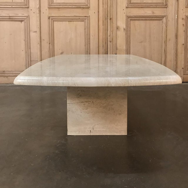 Mid-Century Limestone Coffee Table For Sale - Image 10 of 13