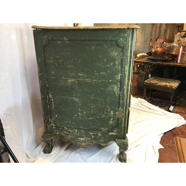 French 18th-c. Commode w/ Original Paint For Sale In Atlanta - Image 6 of 10