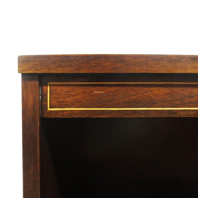 Inlaid Mahogany Bookcase - Image 5 of 5