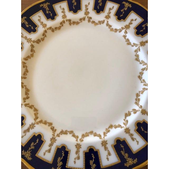 Vintage English Porcelain Dinner Plates -Set of 12 For Sale In Philadelphia - Image 6 of 9