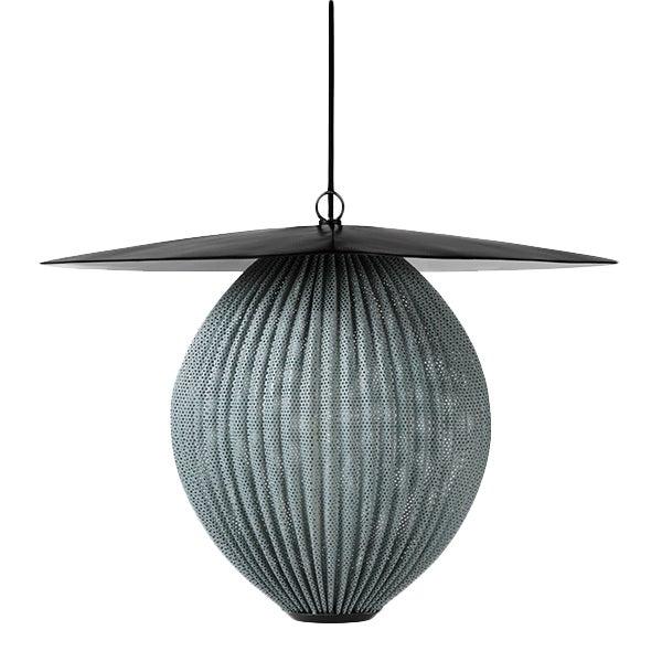 Satellite Medium Pendant Light - Rainy Grey For Sale