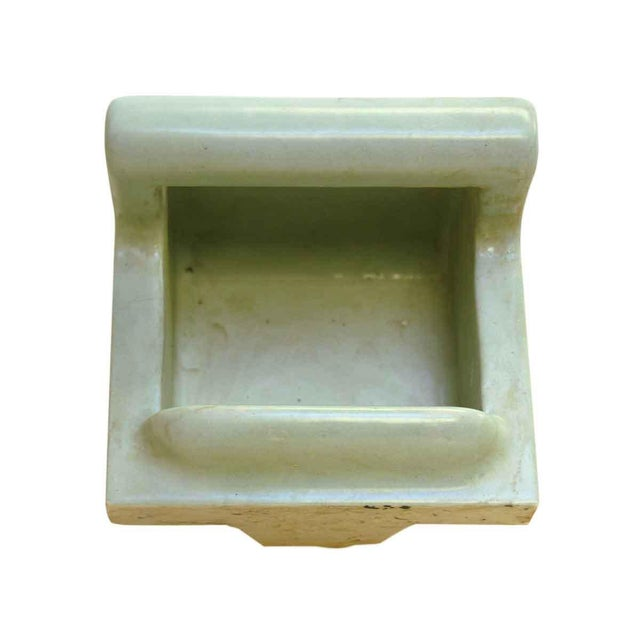 Vintage Green Soap Porcelain Dish - Image 6 of 7