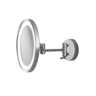 Chrome Bathroom Mirror With Lighting IP44 For Sale