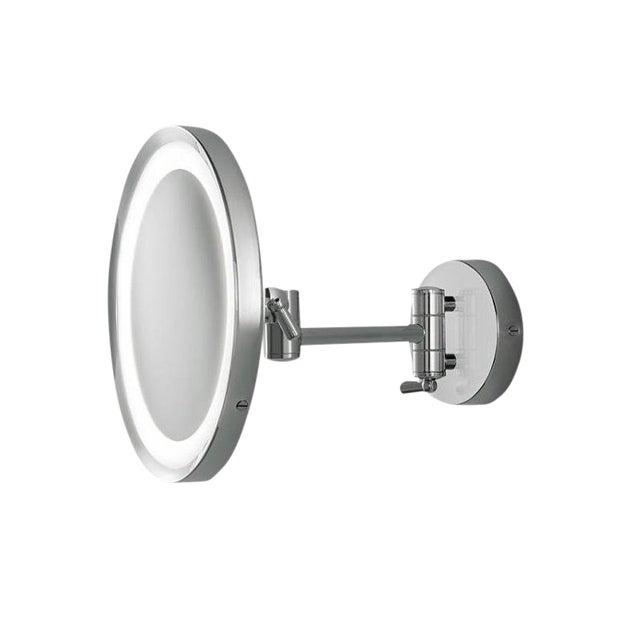 Chrome Bathroom Mirror With Lighting IP44 For Sale