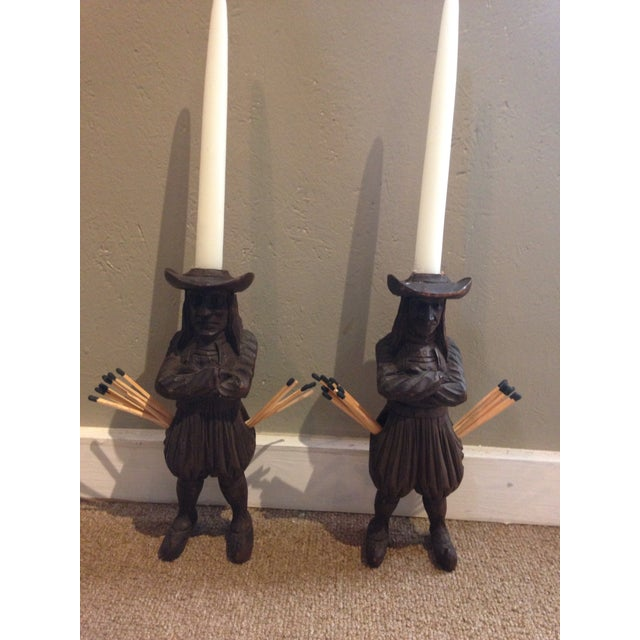 Antique J. Martin Rennes Candle and Matchstick Holders - A Pair For Sale - Image 9 of 10