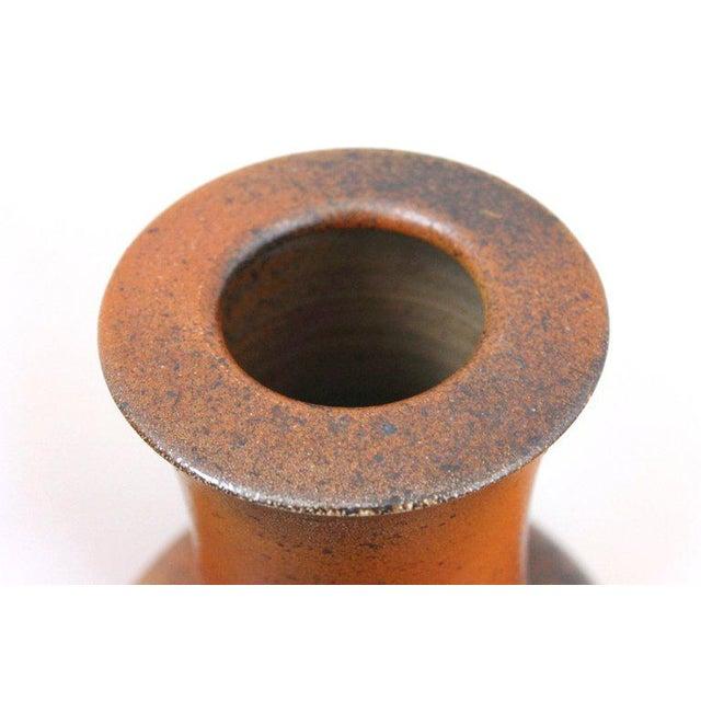 Ceramic German Studio Pottery Vase For Sale - Image 7 of 11