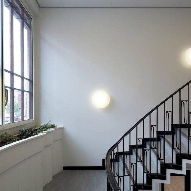 Large Arne Jacobsen 'Eklipta' Flush Mount Light for Louis Poulsen For Sale - Image 5 of 6