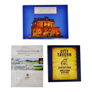 Philadelphia History Coffee Table Books - Collection of 3 For Sale