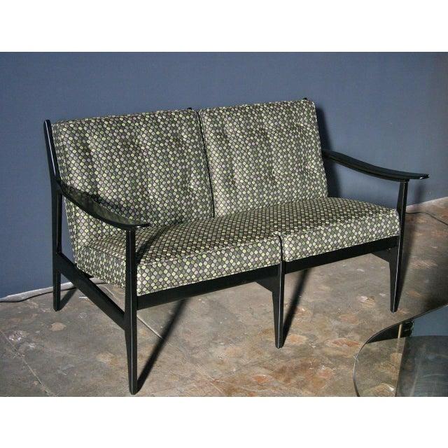 Italian Italian 1950s Sofa Attributed to Gianfranco Frattini for Cassina For Sale - Image 3 of 11