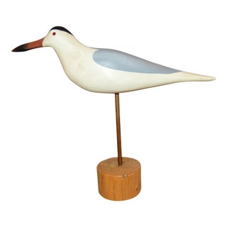 Carved Wooden Tern