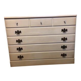 Vintage Ethan Allen 3 Drawer Dresser For Sale