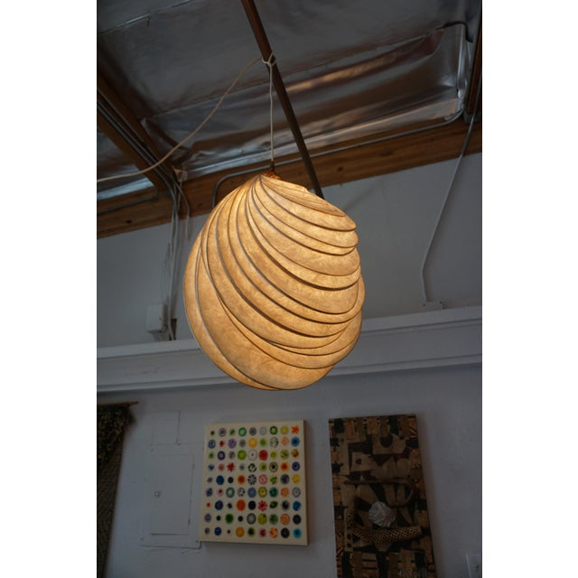 Pendant Light Sculpture by William Leslie For Sale In Palm Springs - Image 6 of 9