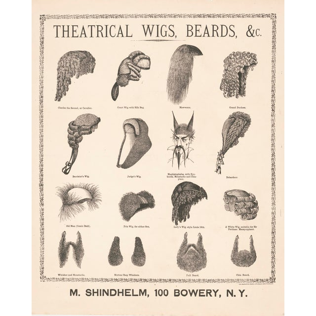 1800's Wigs and Beards Print - Image 5 of 5