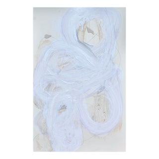 """Brenda Zappitell """"White Series 11"""", Painting For Sale"""