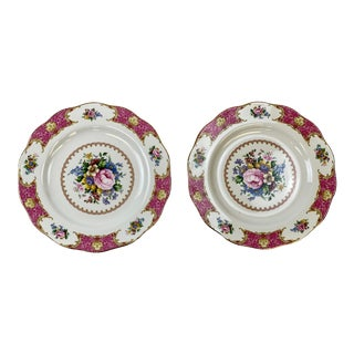 Vintage Royal Albert Lady Carlyle Dinner Plates - a Pair For Sale