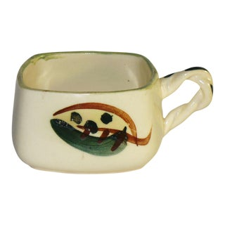 Mid Century Modern Blair Ceramics Hand Painted Decorative Cup For Sale