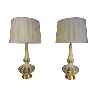 Mid-Century Modern Lamps -A Pair For Sale