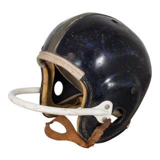 Vintage Football Helmet C.1950 For Sale