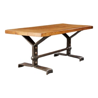 Brutalist Table - Circa 1960-1970 For Sale