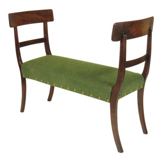19th Century Regency Window Seat For Sale