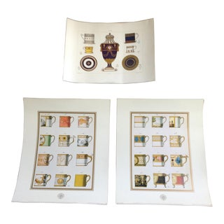 Sevres Tea Cup Museum Prints - Set of 3