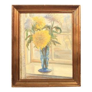 Impressionist Floral Still Life For Sale