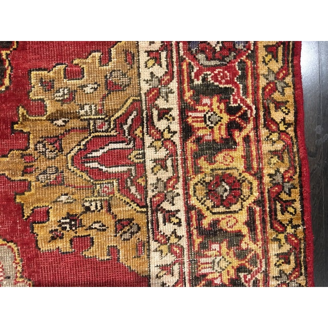 Turkish Oushak Runner - 5' x 13' - Image 8 of 10
