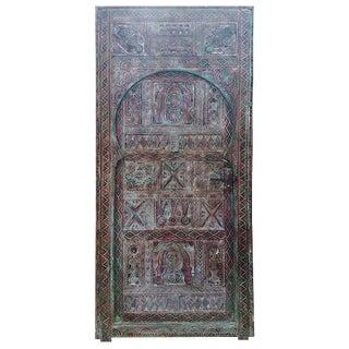 Morrocan/Berber Carved Beni Door For Sale