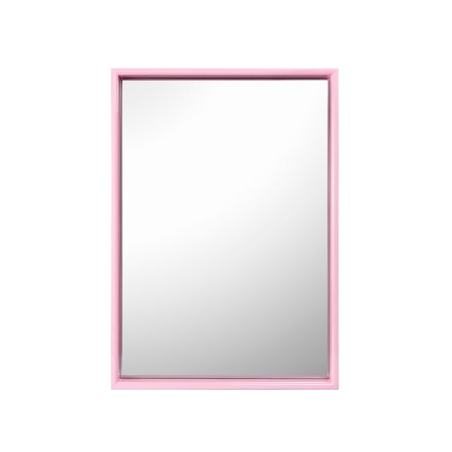 Not Yet Made - Made To Order Large Rectangular Mirror in Kelly Green / Pink - Pentreath & Hall for The Lacquer Company For Sale - Image 5 of 5
