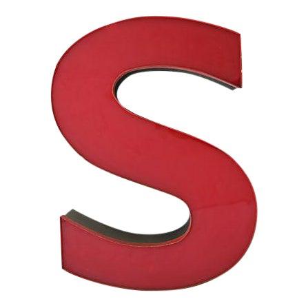 Large Sign Letter S For Sale