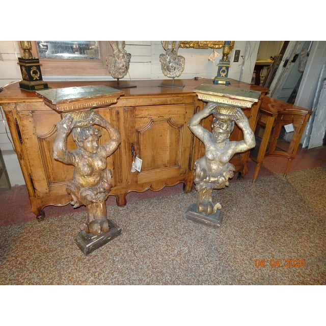 17th Century Italian Caryatids - a Pair For Sale - Image 10 of 11