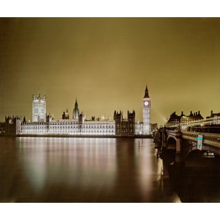 """""""Palace of Westminster, London"""" Contemporary Cityscape Photograph by Guy Sargent For Sale"""