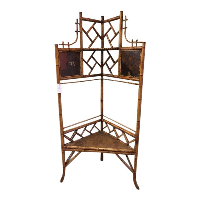 Bamboo Corner Shelf For Sale